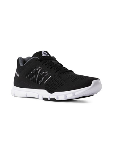 Reebok Reebok Yourflex Train 11 Mt* Siyah Beyaz Erkek Koşu Ayakkabısı Siyah